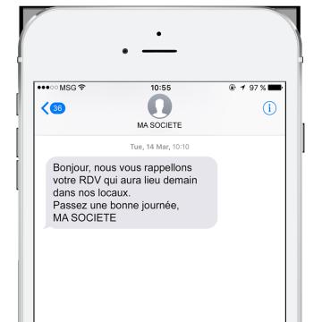 SMS pour les professionnels